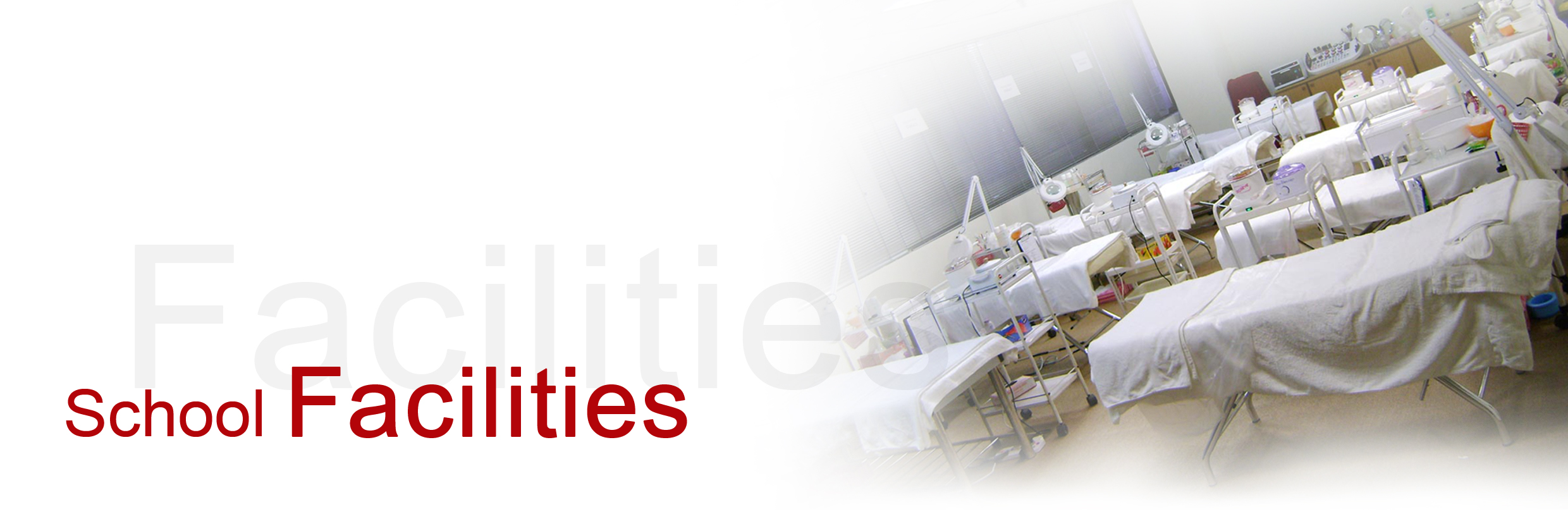 Website Header - our Facilities 1 copy